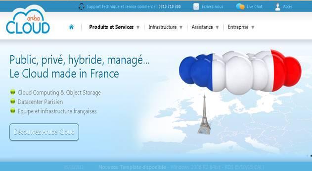 Aruba annuncia l'espansione in Francia con una società dedicata all'offerta dei servizi Cloud