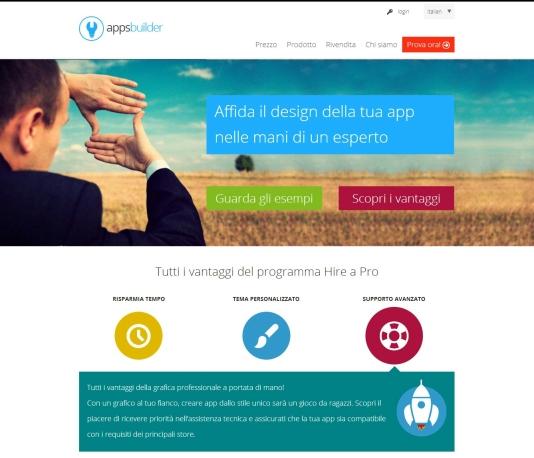 AppsBuilder lancia il servizio Hire a Pro dedicato alle PMI