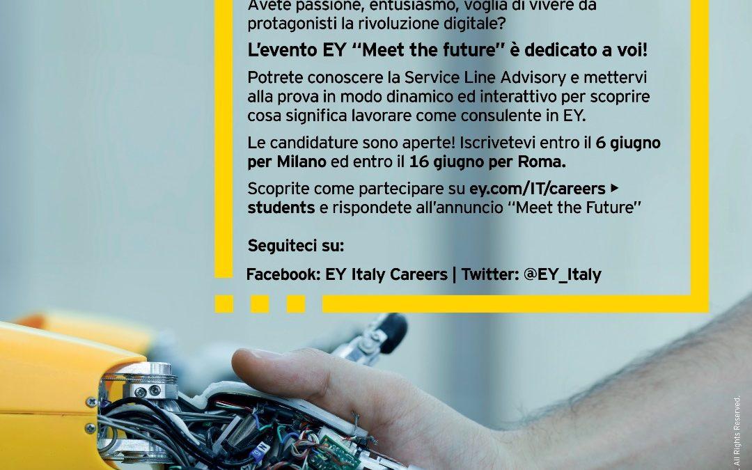"""Meet the Future"" – Evento EY Advisory per giovani laureati"