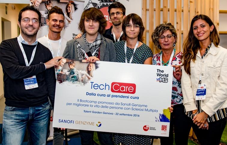 techcare_il-gruppo-vincitore