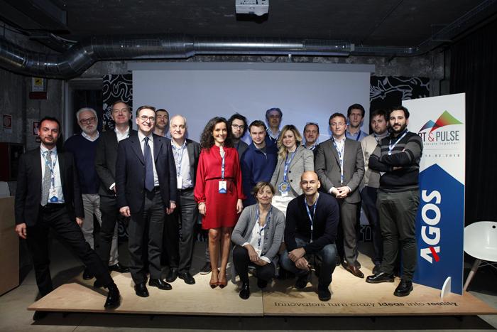 Team Agos e Team startup vincitrici_Call4startup Startup&Pulse Agos
