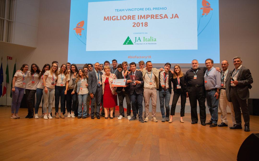 Premio Migliore Impresa JA 2018 va al progetto OKelvin JA dell'ISIS Malignani di Udine