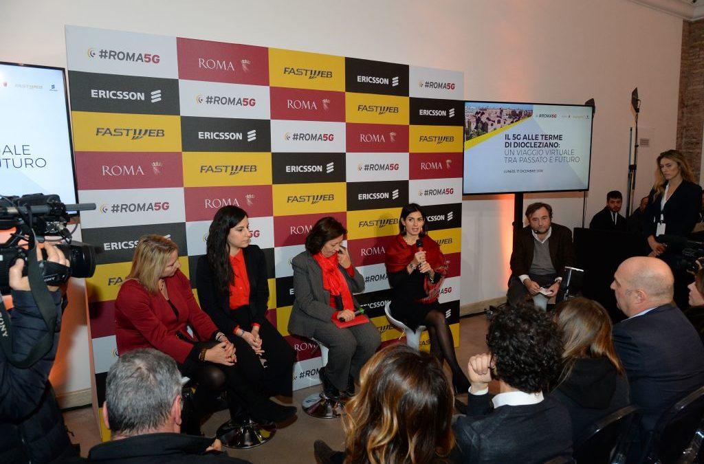 #Roma5G: Roma Capitale, Fastweb ed Ericsson presentano la prima applicazione su rete 5G